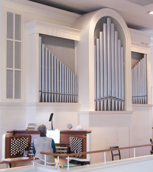 Colby Organ at the First Unitarian Universalist Society of Burlington